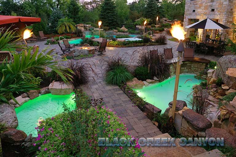 Custom Pools By Design slide background Custom Pools And Waterfalls By Black Ckeek Canyon