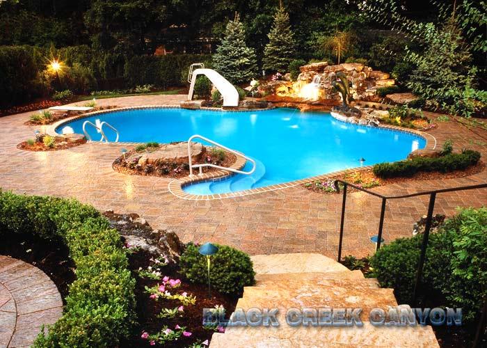 Custom Pools By Design custom pools by design Custom Pools And Waterfalls By Black Ckeek Canyon