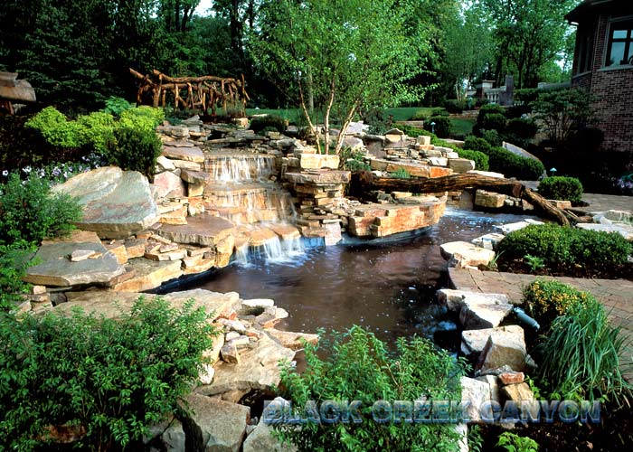 Pools With Waterfalls black creek canyon - exotic pools, landscapes, waterfalls