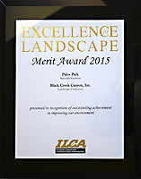 2015 ILCA Merit Award for Landscaping Palos Park