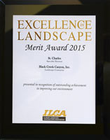 2015 ILCA Merit Award for Landscaping St. Charles