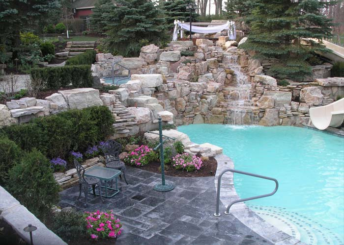 Custom Pools By Design custom pools by design pool ideas luxury in ground swimming pool and patio design ideas Custom Pools And Landscape By Black Ckeek Canyon